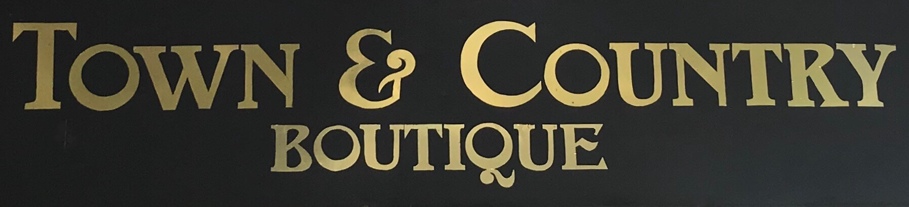 Town & Country Boutique