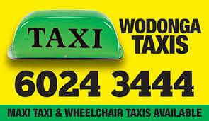 Wodonga Taxis