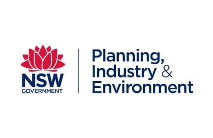 Department of Planning, Industry and Environment.